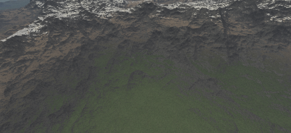 Standard multi-ridged perlin noise
